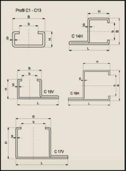 Stahl C Profil : katena gleitf hrungen stahl c profile steel c profiles ~ Yuntae.com Dekorationen Ideen